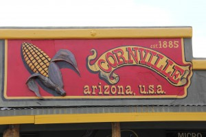 Cornville, just a bit west of the middle of AZ is this small town without any corn that we could locate, but a valley of artisan water that has just the right climate for growing grapes.